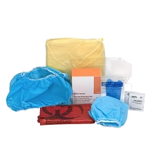 7 Piece Bloodborne Pathogen Protective Apparel Pack by First Aid Only