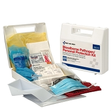 30 Piece Bloodborne Pathogen/Personal Protection Kit by First Aid Only