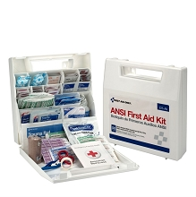50 Person, 195 Piece ANSI First Aid Kit w/Plastic Case by First Aid Only
