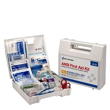 25 Person, 141 Piece ANSI Kit w/Plastic Case by First Aid Only
