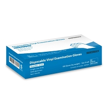 Vinyl Exam Gloves - 100/Box (Various Sizes)