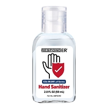 RespondER Antiseptic Hand Sanitizer 2.0 oz - 70% Ethyl Alcohol - 12 or 48/Box
