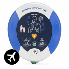 HeartSine samaritan PAD 350P AED Aviation