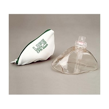 CPR Mask & One-Way Valve (w/Nylon Zip Bag)
