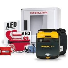 Physio-Control LIFEPAK CR Plus AED Value Package