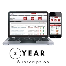 Stat PADS AED Program Management 3 Year Subscription