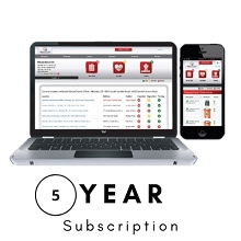 Stat PADS AED Program Management 5 Year Subscription