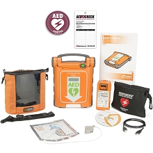 Cardiac Science Powerheart G5 AED and LIFESAVER Jerrycan Camping Package