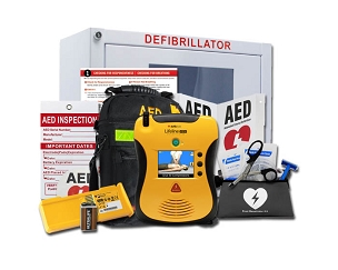 Defibtech Lifeline VIEW AED Stadium and Arena Value Package