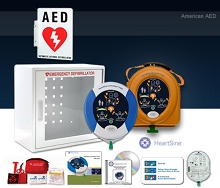 HeartSine samaritan PAD 450P AED School and Community Value Package