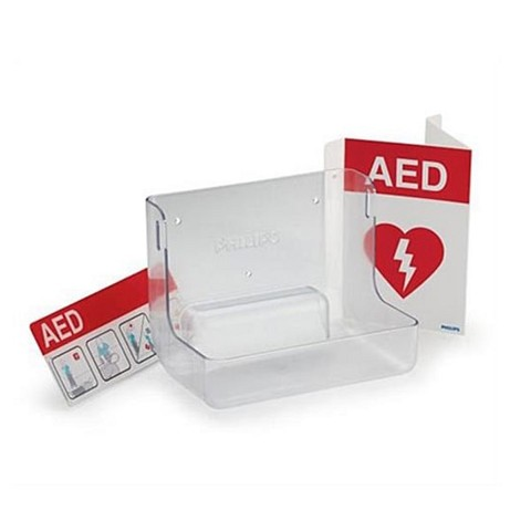 Philips AED Wall Mount and Signage Bundle