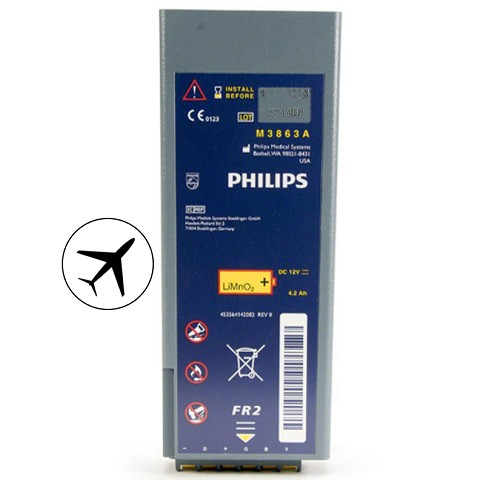 Philips HeartStart FR2 AED Aviation Battery