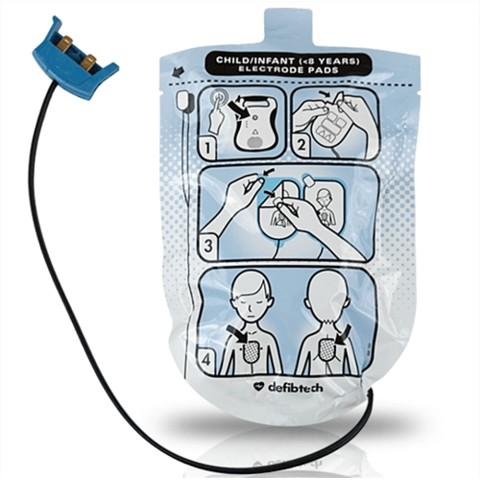 Defibtech Lifeline Pediatric AED Pads
