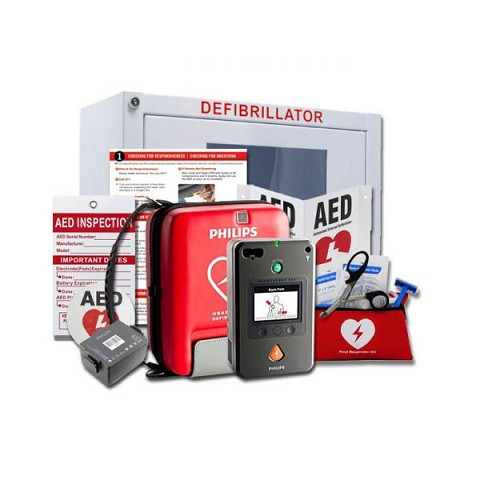 AED Stadium and Arena Value Package with Philips HeartStart FR3