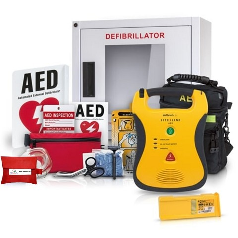 Defibtech Lifeline AED Value Package