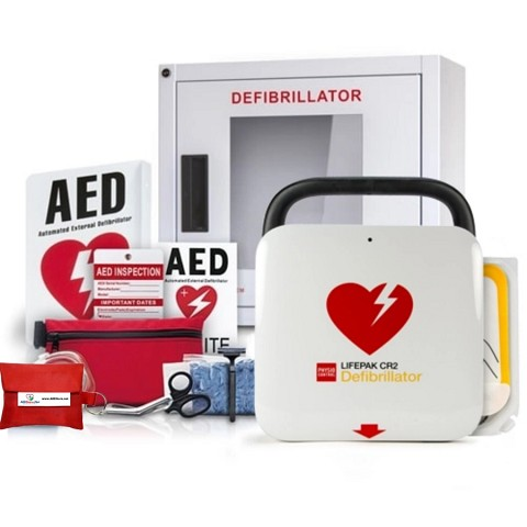 Physio-Control LIFEPAK CR2 AED Value Package