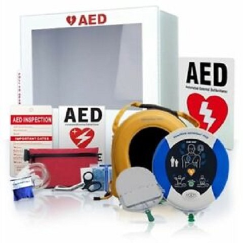HeartSine samaritan PAD 350P AED Athletic Sports Value Package
